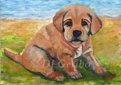 beached-lab-pup-painting-by-artist-dj-geribo.jpg