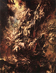 Fall of the Damned by Piers Paul Rubens