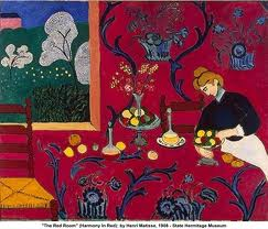 The Red Room by Henry Matisse