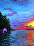 Striking Sunset by artist DJ Geribo